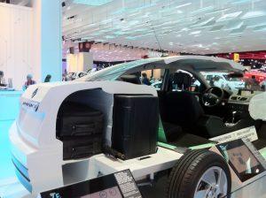 Renault 「Fluence z,e」 電池とトランク