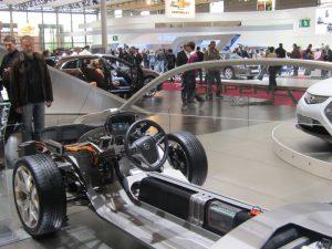 Opel-Ampera(Voltの姉妹車)の電池パック